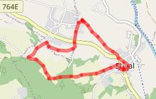 Circuit de l'église de St-Mériadec et de la chapelle St-Molvan
