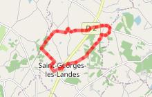 Itinéraire de la Croix Robert