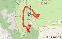 Boucle autour d'Auris - par Maronne et Piégut