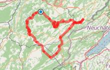 Circuit Cyclo - Entre vallées, lacs et canyons