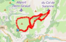 Auris - Croix de Cassini - Col de Sarenne
