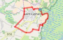 Circuit de La Pierre Fendue - Bords de Marais Variante 9 km
