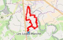 Circuit n° 7  -  Entre Vallais et Bruyère