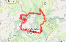Saint-Médard-en-Forez - Sentier des Moulins