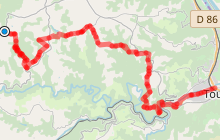 Enduro VTT Saint Victor-Tournon sur Rhône difficile