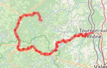 Parcours cyclo descendant Le Lac de Devesset