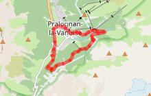 Parcours trail P8