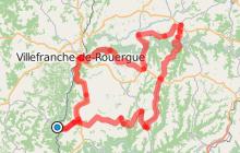 Itinéraire Cyclo / Les méandres de l'Aveyron