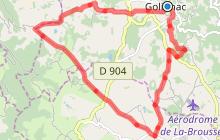 Circuit VTT n°3 au départ de Golinhac
