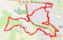 Circuit du Moulinet au départ de Bazouges