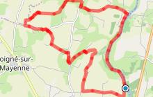 Circuit du Pinson à Loigné-sur-Mayenne