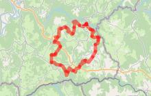 Boucle équestre Camps par les Tours de Carbonnières et les Tours de Merle