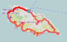 Tour de L'île d'Yeu à vélo
