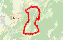 Circuit VTT n°55 - Tour du Bois du Plumont - Gy - Vallée de l'Ognon
