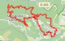 Randonnée Le Tour de Ribes
