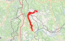 Variante Turenne - Collonges la Rouge - Martel, un chemin de Saint-Jacques, voie de Rocamadour en Limousin et Haute-Quercy