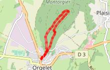 Le sentier sylvicole d'Orgelet