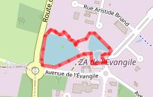 Sentier pédagogique de l'étang de l'Evangile : 1km