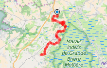 Entre chaumières et marais - A vélo d'Herbignac à Kerhinet