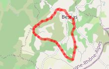 VTT - La plaine de Bessas