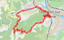 """Itinéraire de randonnée pédestre """"Les Crêtes"""""""