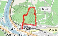 """Itinéraire de randonnée pédestre """"De l'Hermite à l'Hermitage"""""""