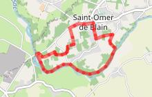 "Circuit ""La Rote du Farinier"" - petite boucle - ST OMER DE BLAIN"
