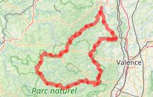Circuit moto vers le Mont Gerbier de Jonc