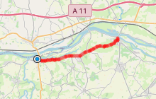 Liaison ROUTE DES VINS DU VAL DE LOIRE (Montjean-sur-Loire/St Florent-le-Vieil)
