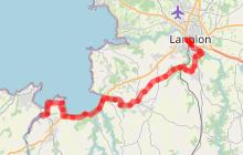La Vélomaritime entre Lannion et Plestin-les-Grèves : 1-2 jours
