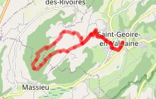 Parcours trail n° 50 : Boucle de Servelongue