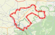 Circuit Velo - C17 Les routes Dom Robert et Paul Riquet