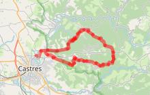 Circuit Velo - C2 Du sentier du train au massif du Sidobre
