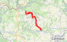 Sentier de liaison du Cérou au Viaur