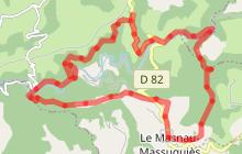 Randonnée du Masnau Massuguiès via St Michel de Léon