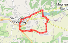 St Jean de Bournay : Etang de Montjoux
