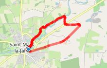 Circuit de la Fontaine Mauricette - ST MARS LA JAILLE (Vallons de l'Erdre)