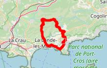 Balade à vélo Bormes les Mimosas, La Londe Les Maures, Collobrières !