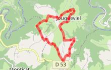 Circuit n°1 (bleu) VTT - L'Etang de Saint-Alary