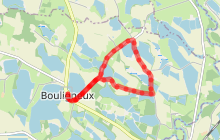 Sentier pédestre : circuit des étangs Bozonnières