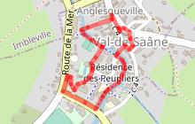 Val-de-Saâne à pied