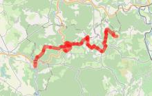Tour du Tarn à cheval : Bruniquel / Roussayrolles