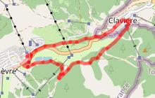 Parcours XC - Le Tour du Col