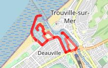 Running autour des ports de Deauville