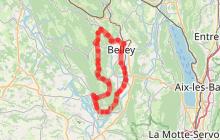Circuit l'Ain à vélo n° 25 - Au pays de Brillat-Savarin