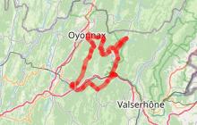 """Circuit l'Ain à vélo n° 8 - Sur la route des sapins le """"Bugey Noir"""""""