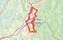 """Circuit l'Ain à vélo n° 21 - La """"festivalière"""""""