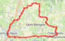 Circuit l'Ain à vélo n° 1 - spécial familles-enfants - La Guinguette