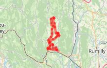Circuit l'Ain à vélo n° 27 - Le Valromey : la vallée romaine '