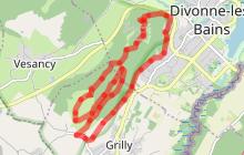 Circuit 62 Les Rochassons - Espace VTT-FFC Entre Jura et Léman